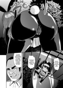 Phantom Thief Black Bunny Sample Page 1