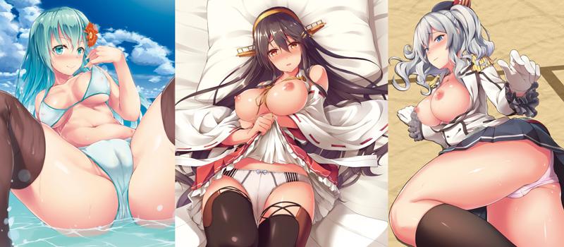Yusaritsukata doujinshi 3 covers