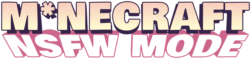 M*NECRAFT NSFW mode logo