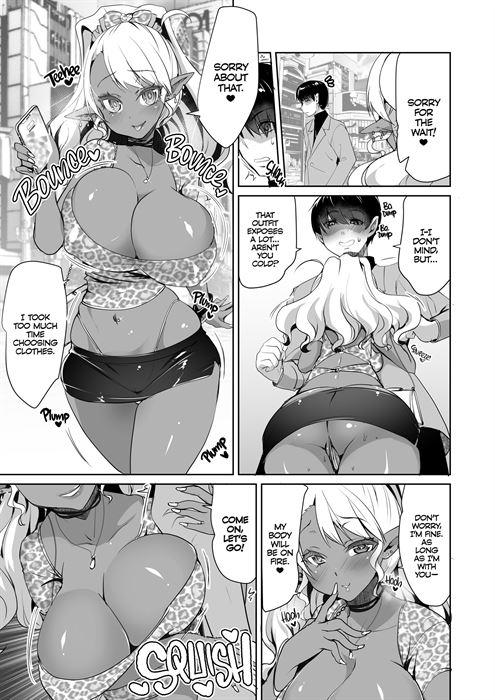 Dark Elf Schoolgirl Raises Tentacles sample page 3